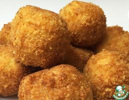 Рыбные шарики из пиленгаса с сыром