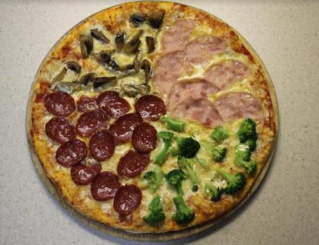 Пицца 4-вкуса