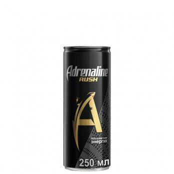 Adrenaline Rush (энергетик) 0,25 л.